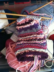 I was attempting to recreate Hermione Granger's Fingerless gloves