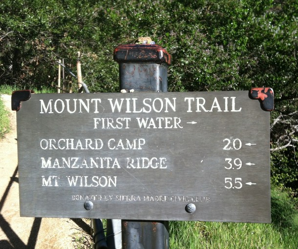"We stopped at ""First Water"" which was 1.5 mile from the bottom. (It felt like more! LOL)"