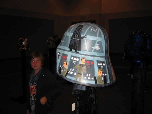 One of the coolest things we saw at Celebration was the Vader Project.