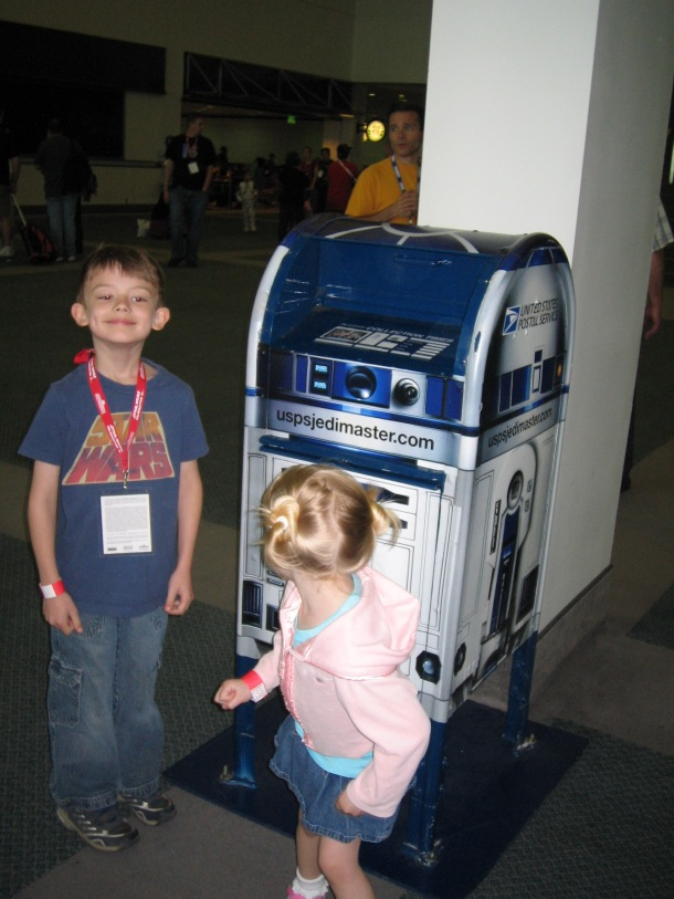 and the R2D2 mailbox