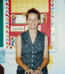 Miss Terich, IHM school, 1995.