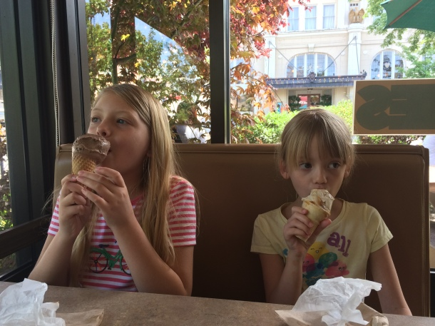 Going to Zoey's ice cream is a MUST.