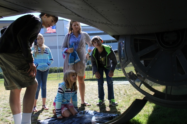 """This particular plane was used in """"Memphis Belle"""" as well."""