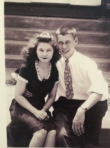 My darling grandparents, in the 40s.