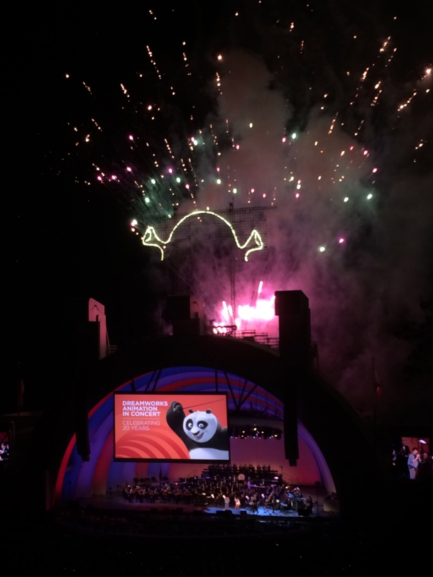 Shrek-sized fireworks