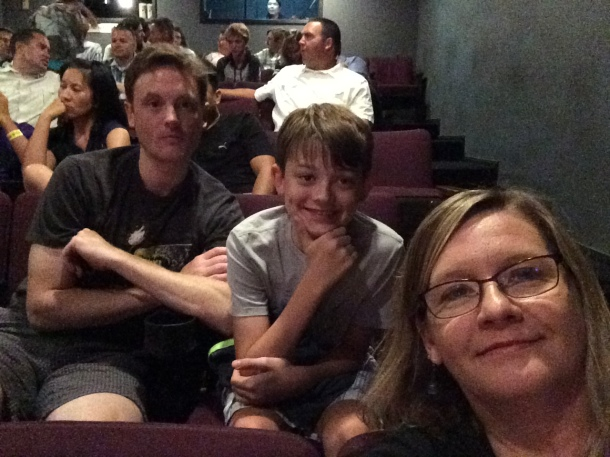 Audience Selfie - ready for Comedy Sportz