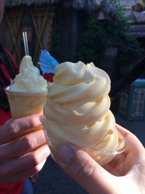 Could this really be our first Dole Whip?!?!
