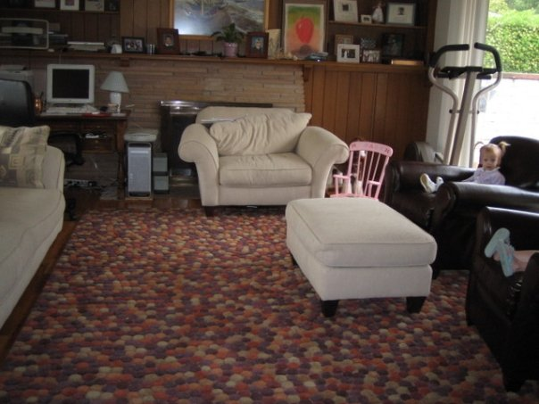 """Our """"old"""" living room."""
