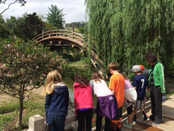 4th grade trip to the Huntington Gardens