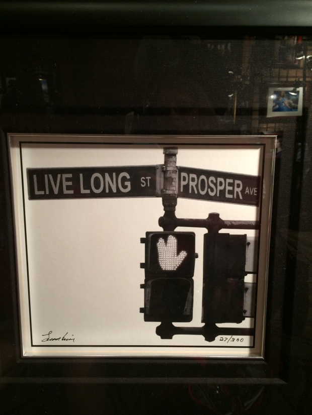 A photo taken by Leonard Nimoy on an actual corner in Canada.