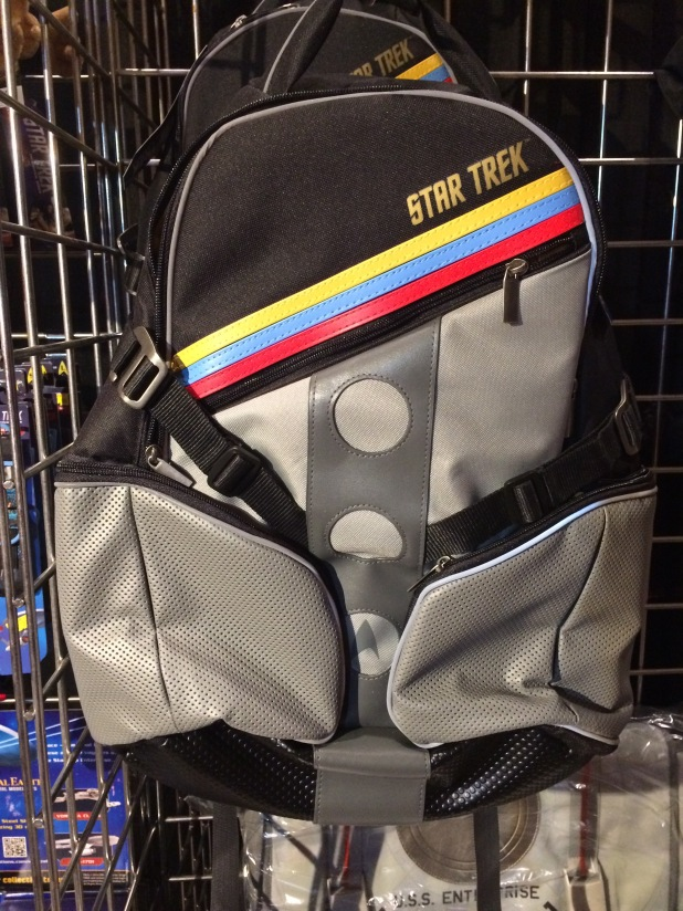 A Wesley Crusher inspired backpack