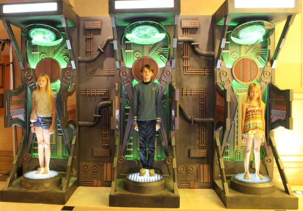 My children, captured by the Borg